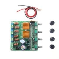 HS-AUDIO Receiver Digital 2.1 Class D HIFI Power Amplifier Board 3CH Super Bass Amp Grade Fever TPA3116D2 100w+50w+50w