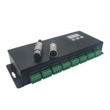 RGB DMX Decoding Driver 24 Channel DMX512 Power Decoder RGB LED Controller BC-824