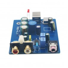 SA9023 ES9023 HIFI Audio DAC Decoder Sound Card for Power Amplifier Support 24bit 96K
