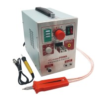 S709A 2 in 1 110V Battery Pulse Spot Welder & Soldering Station with Welding Pen 70B