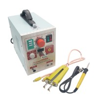 110V Pulse Battery Spot Welder 709A Soldering Iron Station with 71B Welding Pen for 18650 Battery Li Polyer