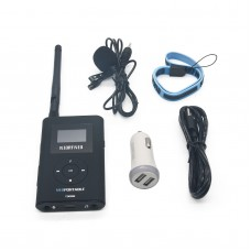 Portable FM Transmitter Radio Broadcast 1mW to 300mW for Tourism Church Meeting NIO-T300M
