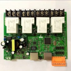 4 Channel Network Controller Module Ethernet RJ45 Interface Support Remote Control