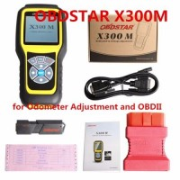 OBDSTAR X300M Special Odometer Adjustment Tool and OBDII (Can Be Adjusted by OBD)