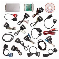 V9.31 Carprog Full Newest Version with All 21 Items Adapters CAR PROG Programmer
