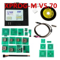 X-PROG V5.70 ECU Programmer XPROG-M with USB Dongle XPROG for Vehicles Car