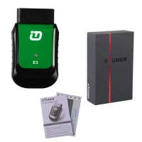 XTUNER E3 Wireless OBDII Diagnostic Tool Replacement for VPECKER Easydiag
