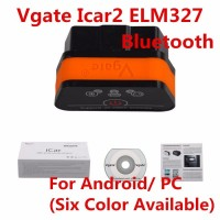 Vgate iCar 2 Bluetooth Version ELM327 OBD2 Code Reader Scanner Tool for Android PC