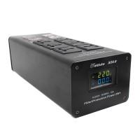 Weiduka AC8.8 Audio Power Purifier Filter 3000W 15A LED AC Power Socket Upgraded Version Black
