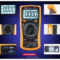 VICTOR VC890C+ Display Multi Tester Digital Multimeter AC DC Volt Ohm Ammeter