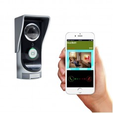 WIFI Doorbell Wireless Remote Control Video Intercom Monitor Support Android iOS APP Home Security