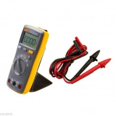 Fluke F107 Portable Handheld Digital Multimeter Voltage Resistance Current Tester