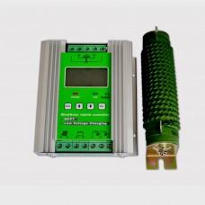 LCD Wind Solar Hybrid Controller MPPT External Dump Load Resistor Booar Charging