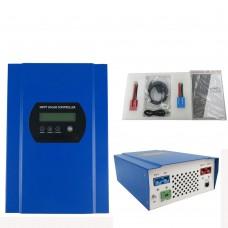 60A MPPT Solar Battery Charger Controller Regulator 12V 24V 48VDC 150V PV with LCD