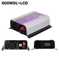 600W Pure Sine Wave Grid Tie Inverter for 10.8-30V Wind Turbines 600WDL-LCD