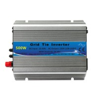 500W MPPT Grid Tie Solar Inverter Pure Sine Wave 22-60V DC to 230V AC Output