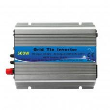 500W MPPT Grid Tie Solar Inverter Pure Sine Wave 22-60V DC to 230V AC Output