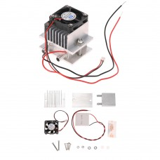 Thermoelectric Peltier Cooler Refrigeration Cooling System Heat Sink Conduction Module + Fan + TEC1-12706 DIY Kit