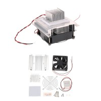 Thermoelectric Peltier Refrigeration Cooling System Semiconductor Cooler Conduction Module + Radiator + Fan + TEC1-12706 DIY Kit