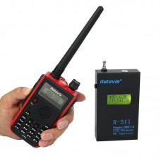 R511 Portable Frequency Counter LCD Display CTCSS DCS Decoder Meter for Radio