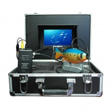 "GSY8001D Fish Finder Underwater Fishing Camera Video DVR HD 800TVL with 7"" LCD Monitor 20m Cable 4G SD Card"