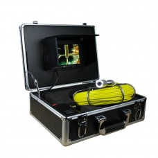 "GSY9000 Sewer Waterproof Video Camera 7"" Monitor Drain Pipe Inspection with 20M Cable"