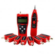 NF388 Network LAN Phone Cable Tester Tracker Tracer Ethernet Wire Test with 8 Far End Test Jacks