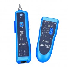 Network RJ11 RJ45 LAN Wire Tracker Fault Locator Cable Tester NF-801B Blue
