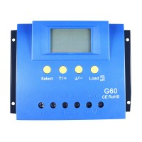 Y-SOLAR 60A PWM Solar Charge Controller Panel Battery Regulator Backlight LCD 12 V and 24V