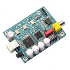 Amanero USB IIS Digital Interface ATSAM3U1C + XC2C64A + WM8805 Coaxial I2S DSD Output Audio Amplifier