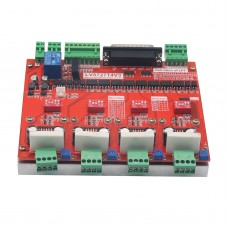 LV8727 CNC Four Axis 4 Axis Stepper Motor Driver Controller Board w/ DB25 Parallel Cable for MACH3 KCAM4