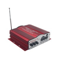 Kinter MA-200 USB SD 480W 4CH Home Car HiFi Digital Stereo Power Amplifier