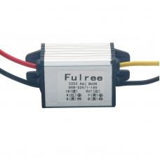 Fulree DC-DC Step Down Voltage Regulator Power Adapter 8-22V to 1.5-15V Adjustable Buck Converter Module