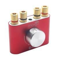 Mogu 30Wx2 Mini Bluetooth Amplifier HIFI Audio 2.0 Channel Amp for Subwoofer Bookshelf Loudspeaker-Red