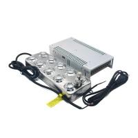 10 Head Ultrasonic Mist Maker Fogger Humidifier Atomizer + Transformer Power Supply 220V