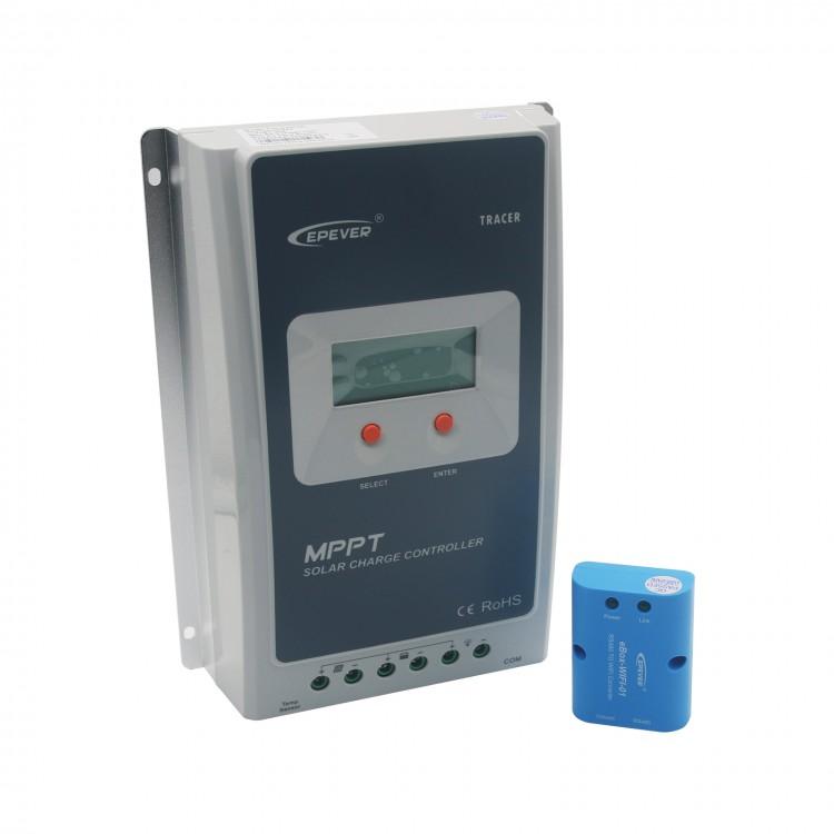 Tracer3210A + WIFI BOX Mobile Phone APP EPsloar 30A MPPT Solar