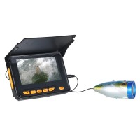 "Underwater Fish Finder Night Vision Fishing Camera 1000TVL 4.3"" Monitor with 20m Cable 730"