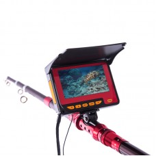 "Underwater Fish Finder Fishing Video Camera DVR 1000TVL 4.3"" HD Monitor System with 20m Cable 721D"