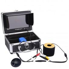 "7"" LCD Waterproof Fish Finder Fishing Video Camera DVR 1000TVL HD Monitor 30M 702"