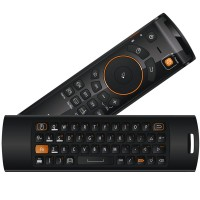MeLE F10 Deluxe Fly Air Mouse Wireless QWERTY Keyboard Remote Control 2.4GHz Gyro IR Learning for Android TV Box PC
