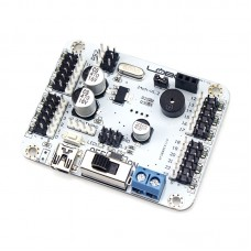24 Way Updated Steering Gear Controller Panel Robot Mainboard Support PS2 Handle Bluetooth MP3