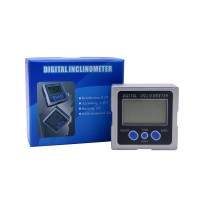 Digital Level Box Mini Electronic Protractor Angle Meter Ruler Gauge Magnetic Base Digital Plastic Inclinometer