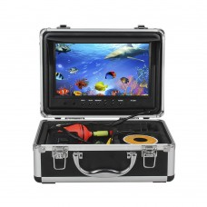 YOYO WF09 50m Cable Fish Finder 8GB IR 9 Inch Color LCD Display Underwater Ocean Fishing Camera Sunvisor