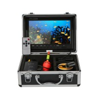 YOYO WF10 Stainless Steel Fish Finder 9 Inch Display Monitor 15m Cable Underwater Fishing Camera Float HD 1000TVL