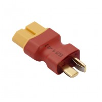 XT60 Female to T Dean Male Plug Conversion Connector for Battery and Charger Control Aircraft
