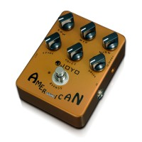 JOYO JF14 American Sound Fender Amplifier Simulator 57 Amp Electric Guitar Reproduction Effects Pedal Stompbox