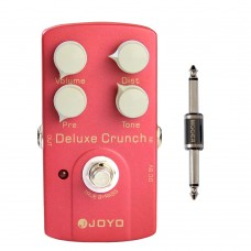 JOYO JF-39 Deluxe Crunch Electric Guitarra Violao Overdrive Guitar Effect Distortion Pedal True Bypass