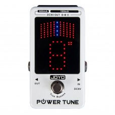 JOYO JF-18R Power Supply Tune Electric Guitar Digital Tuner  in One Effects Pedal True Bypass