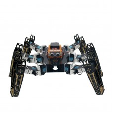 Robot Six Leg Foot Spider Full Kit with Servo Infared Remote Control Arduino Learning