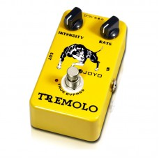 JOYO JF-09 Tremolo Guitar Effects Pedal Analog Tremolo Stompbox Intensity Rate Adjustable True bypass